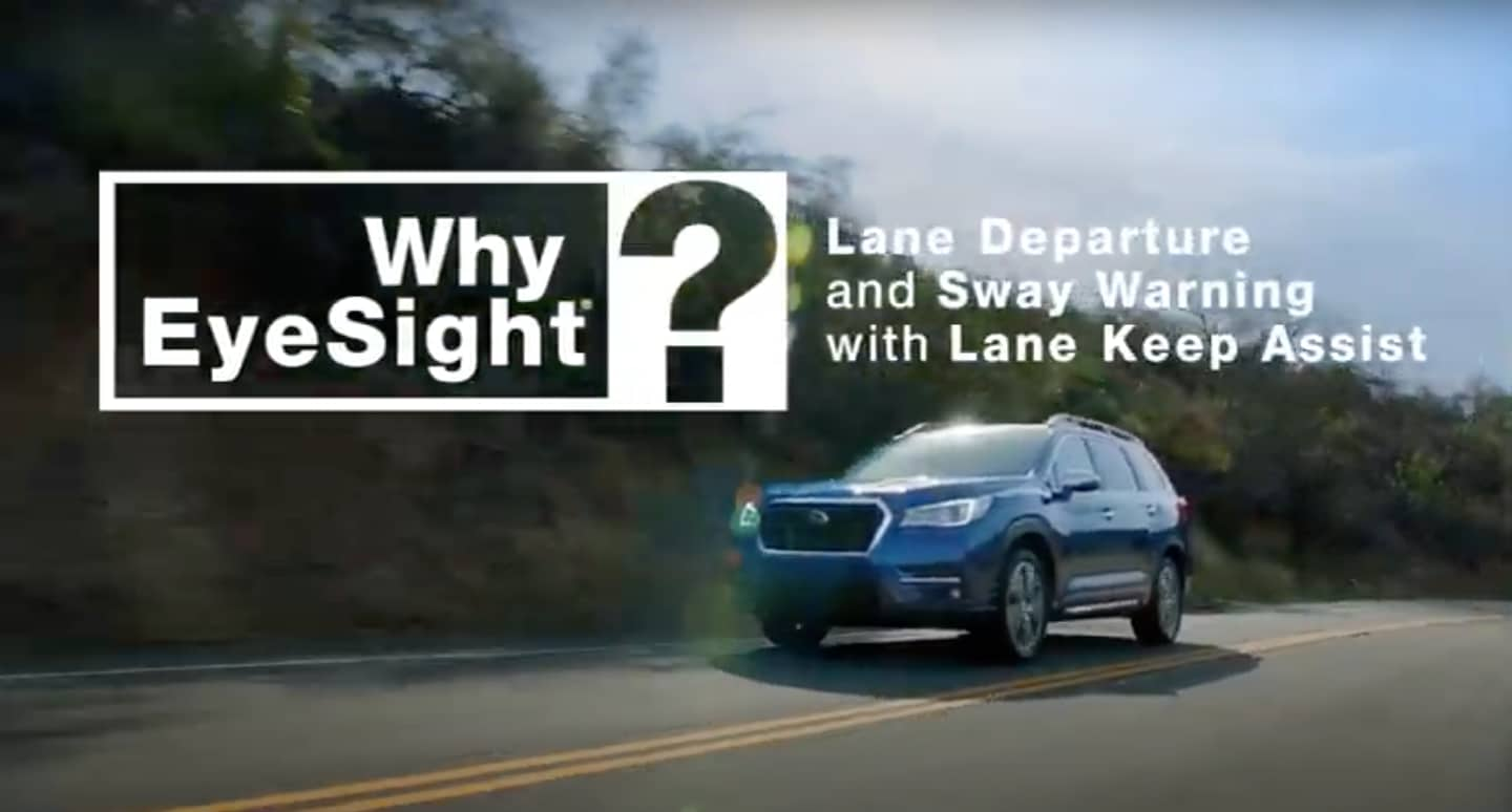 Subaru Lane Keep Assist