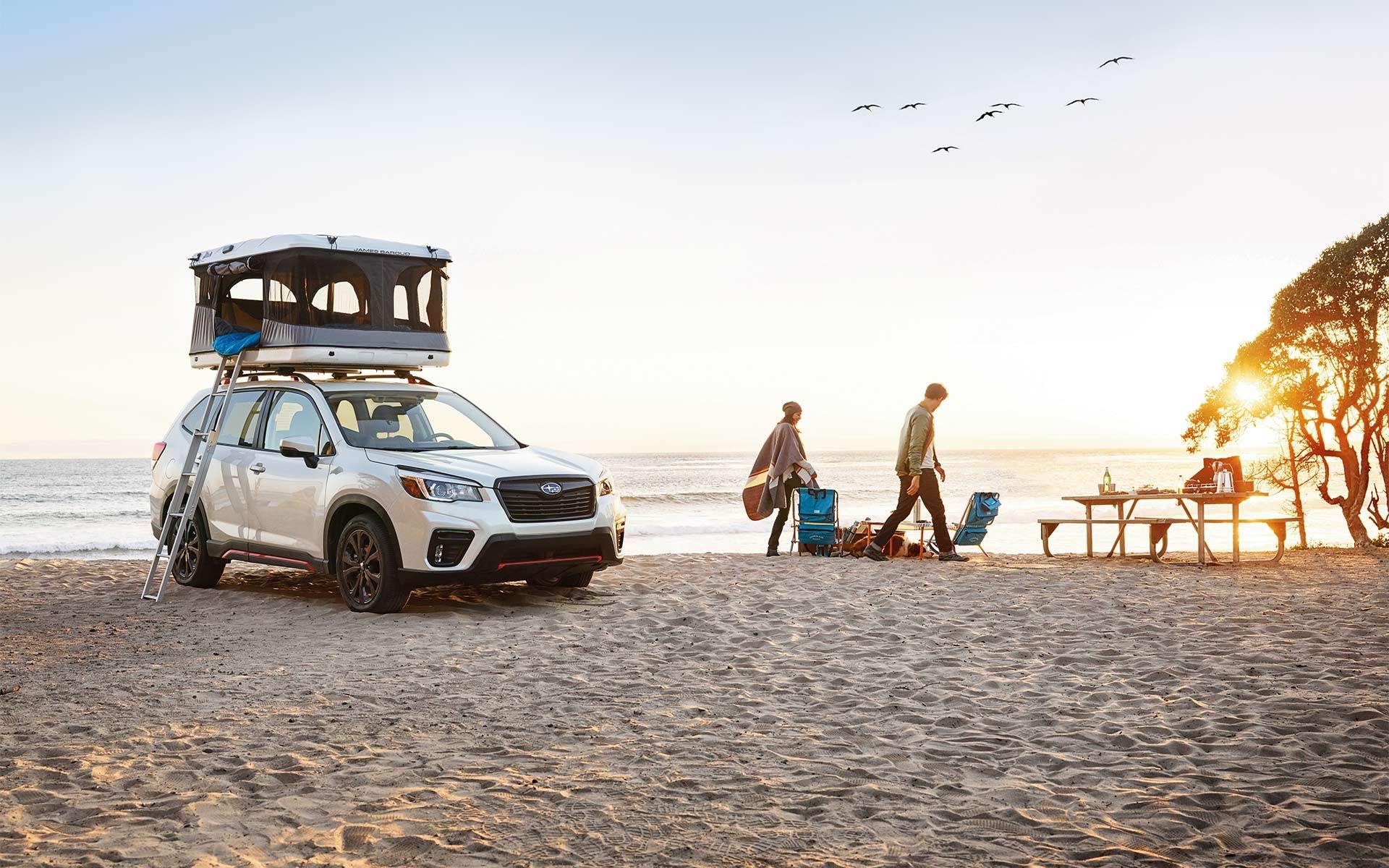 2020 Subaru Forester Awards