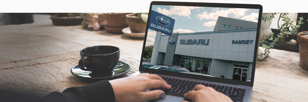 NJ Subaru Dealer Shop From Home Program