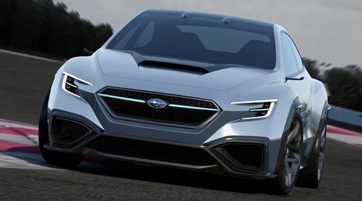 Subaru VIZIV Performance Concept Hood Scoop