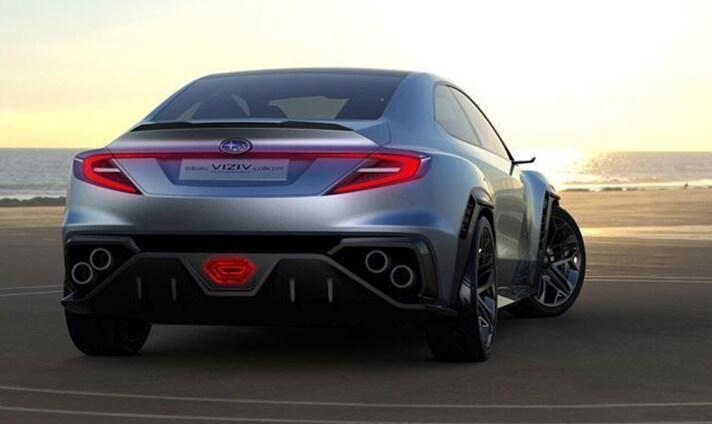Subaru VIZIV Performance Concept Quad Tailpipes