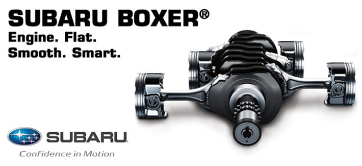 Subaru Boxer Engine >> Learn About The Advantages Of The Subaru Boxer Engine