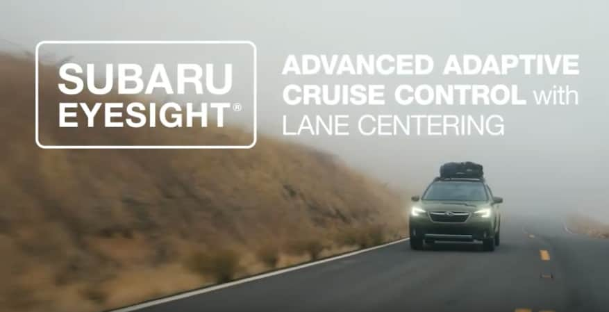 Subaru Advanced Adaptive Cruise Control
