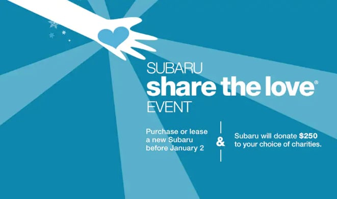 11th Annual Subaru Share the Love Event