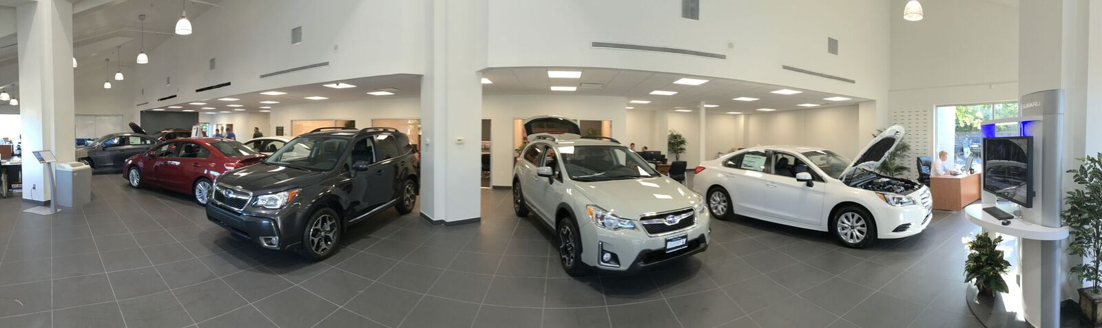North Jersey Subaru Showroom