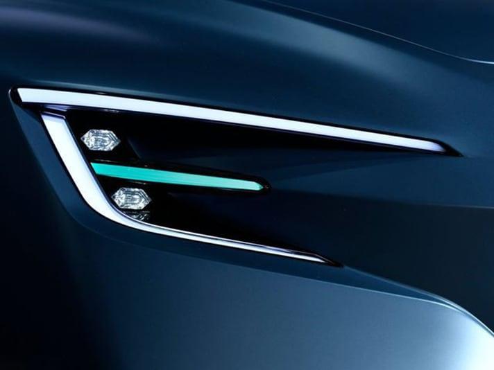 Subaru VIZIV Performance Concept Hawkeye Headlights