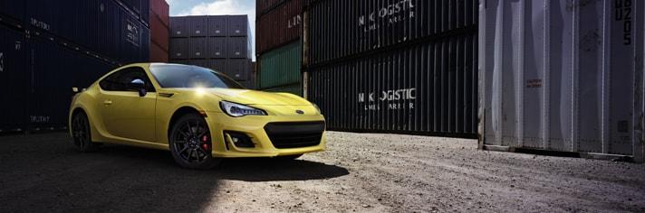 2017 Subaru BRZ Yellow Limited Edition NJ