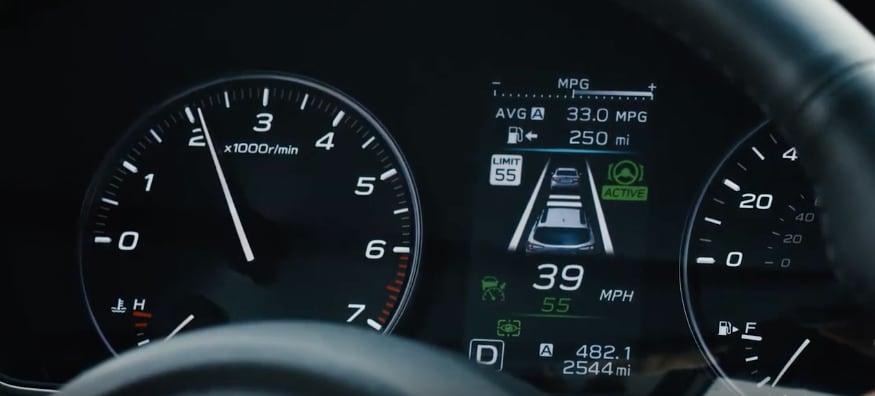 Subaru Adaptive Cruise Control