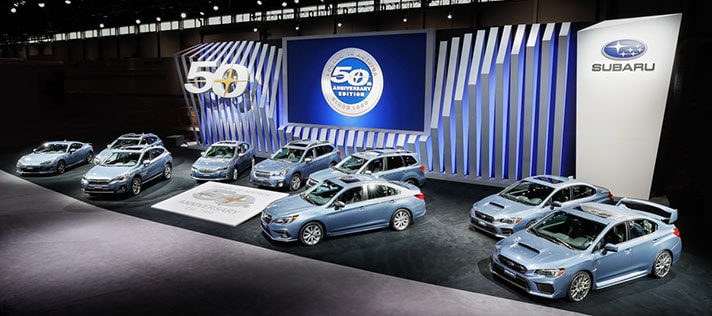 Subaru 50th Anniversary