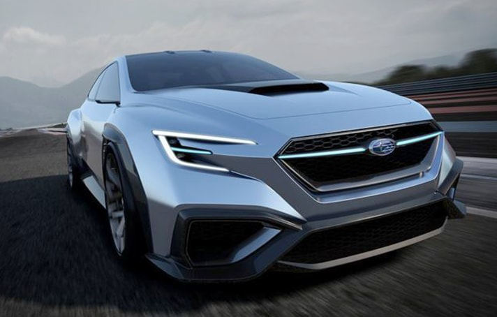 Subaru VIZIV Performance Concept Fender Flares