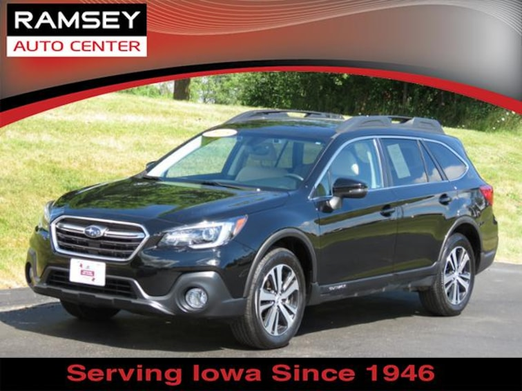 2018 Subaru Outback AWD 2.5i Limited w/Eyesight SUV for sale at your used car authority, Des Moines IA