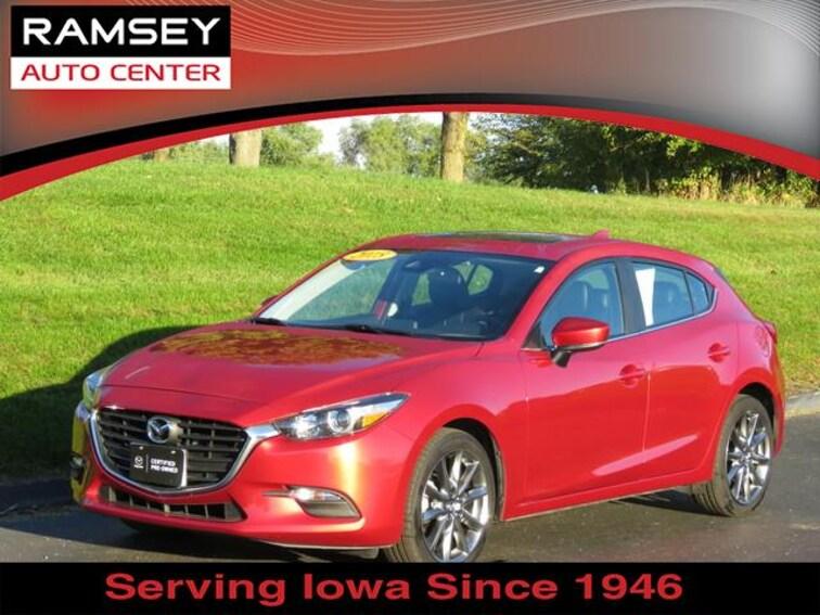 Mazda3 5 Door >> 2018 Certified Used Mazda Mazda3 5 Door For Sale Near Des Moines