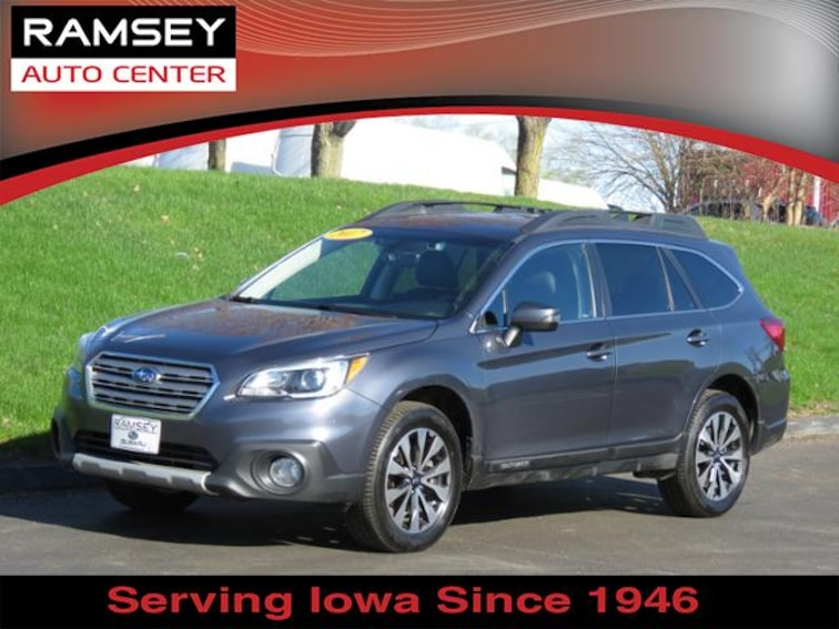 2017 Subaru Outback 3.6R Limited SUV for sale at your used car authority, Des Moines IA
