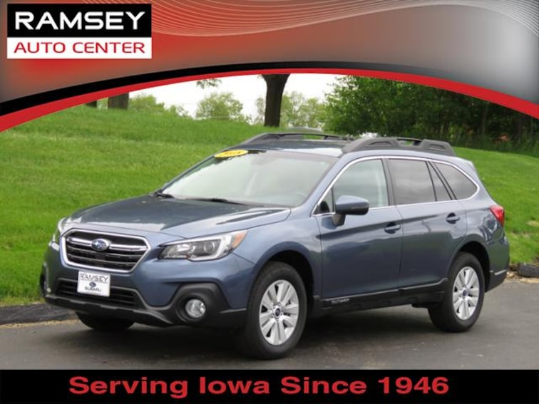 2018 Subaru Outback 2.5i Premium SUV for sale at your used car authority, Des Moines IA