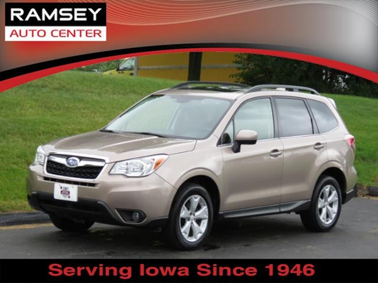 2016 Subaru Forester CVT 2.5i Limited Pzev SUV for sale at your used car authority, Des Moines IA