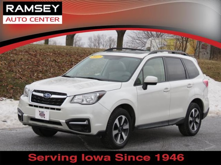 2017 Subaru Forester 2.5i Premium CVT for sale at your used car authority, Des Moines IA
