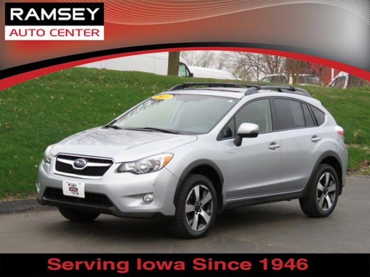 2014 Subaru XV Crosstrek Hybrid 2.0i Touring SUV for sale at your used car authority, Des Moines IA