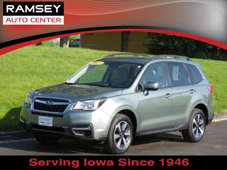 2017 Subaru Forester 2.5i Premium CVT SUV for sale at your used car authority, Des Moines IA