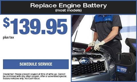 Replace Engine Battery (most models)