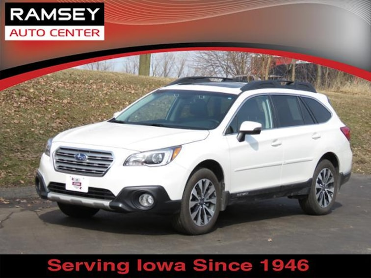 2016 Subaru Outback 2.5i Limited Wagon for sale at your used car authority, Des Moines IA
