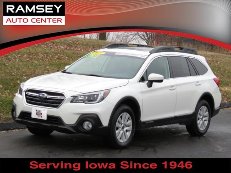 2018 Subaru Outback 2.5i Premium for sale at your used car authority, Des Moines IA