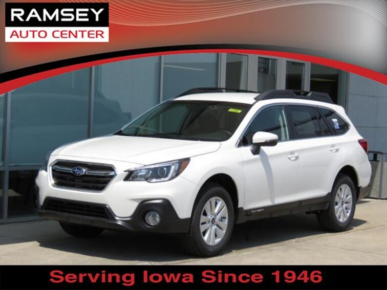 New 2019 Subaru Outback 2.5i Premium SUV for sale in Des Moines IA