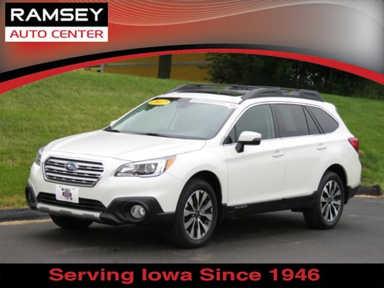 2017 Subaru Outback 2.5i Limited SUV for sale at your used car authority, Des Moines IA