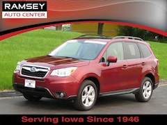 Used 2016 Subaru Forester CVT 2.5i Limited Pzev SUV P8647 for sale near Des Moines, IA