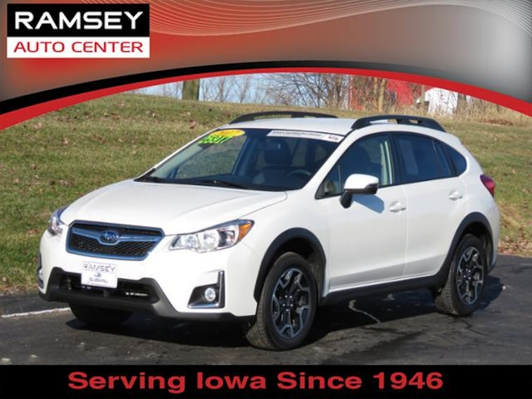 2017 Subaru Crosstrek 2.0i Limited CVT SUV for sale at your used car authority, Des Moines IA