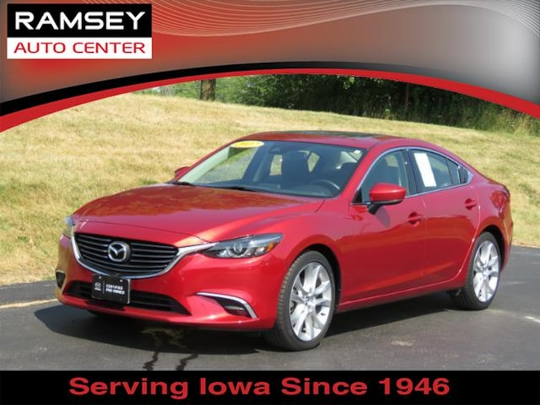 2017 Mazda Mazda6 Touring Auto for sale at your used car authority, Des Moines IA