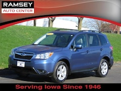 Used 2016 Subaru Forester CVT 2.5i Limited Pzev Z1319 for sale near Des Moines, IA