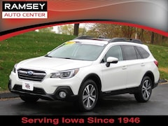 2018 Subaru Outback 2.5i Limited SUV 4S4BSAKC4J3344958 for sale at your used car authority, Des Moines IA