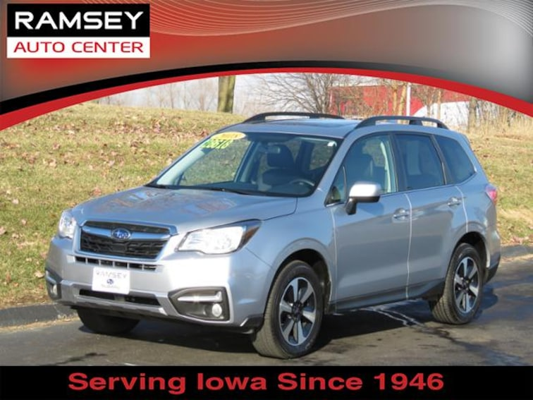 2018 Subaru Forester 2.5i Limited CVT SUV for sale at your used car authority, Des Moines IA