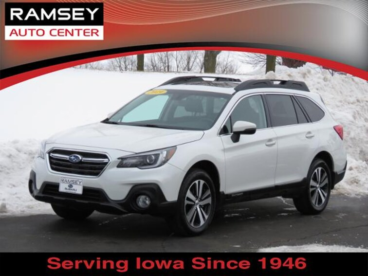2019 Subaru Outback 2.5i Limited w/Eyesight for sale at your used car authority, Des Moines IA