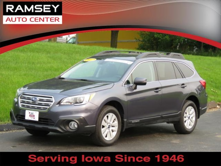 2017 Subaru Outback 2.5i Premium SUV for sale at your used car authority, Des Moines IA