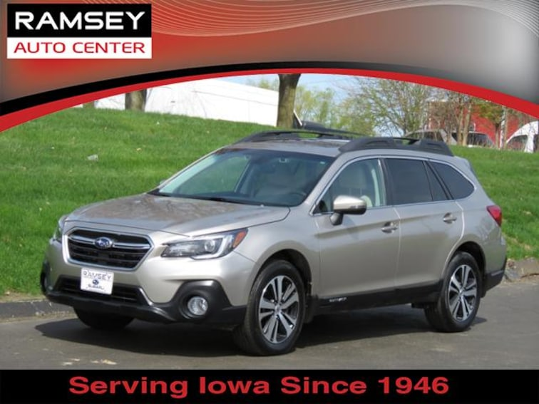 2018 Subaru Outback 2.5i Limited SUV for sale at your used car authority, Des Moines IA