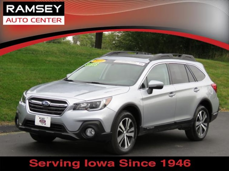 2018 Subaru Outback AWD 2.5i Limited SUV for sale at your used car authority, Des Moines IA
