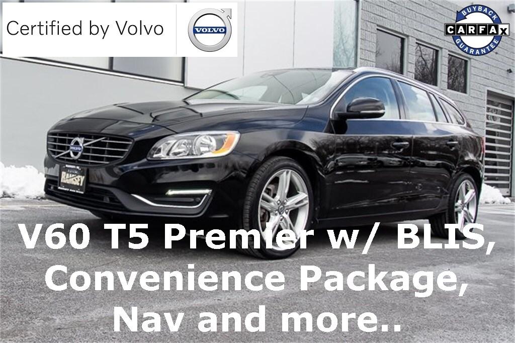 2016 Volvo V60 T5 Premier Wagon