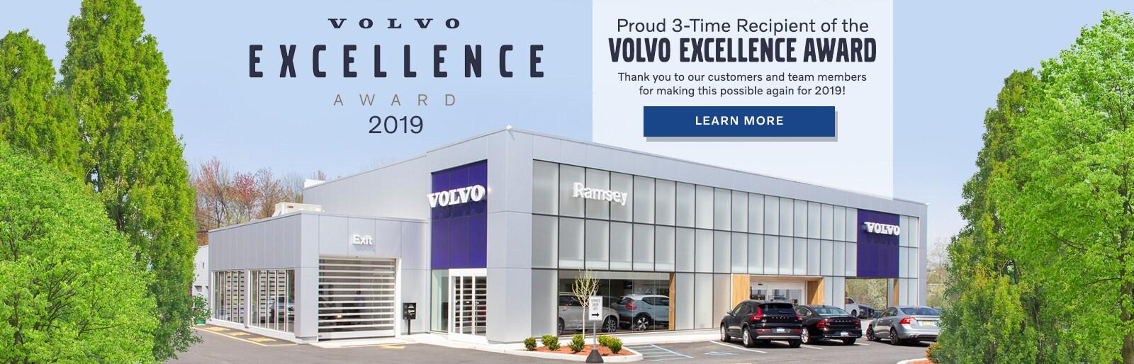 2019 Volvo Excellence Award