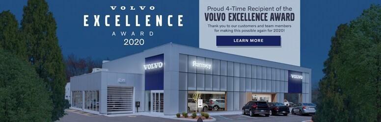 2020 Volvo Excellence Award