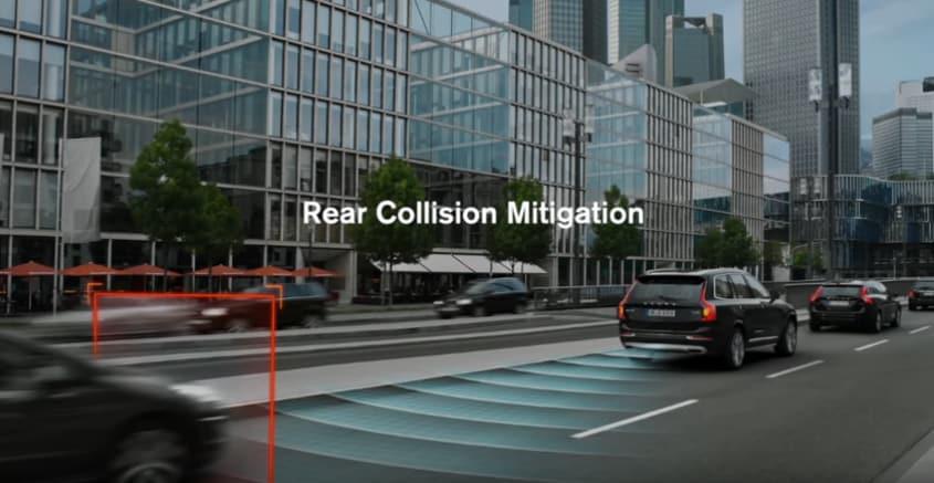 Volvo Rear Collision Mitigation