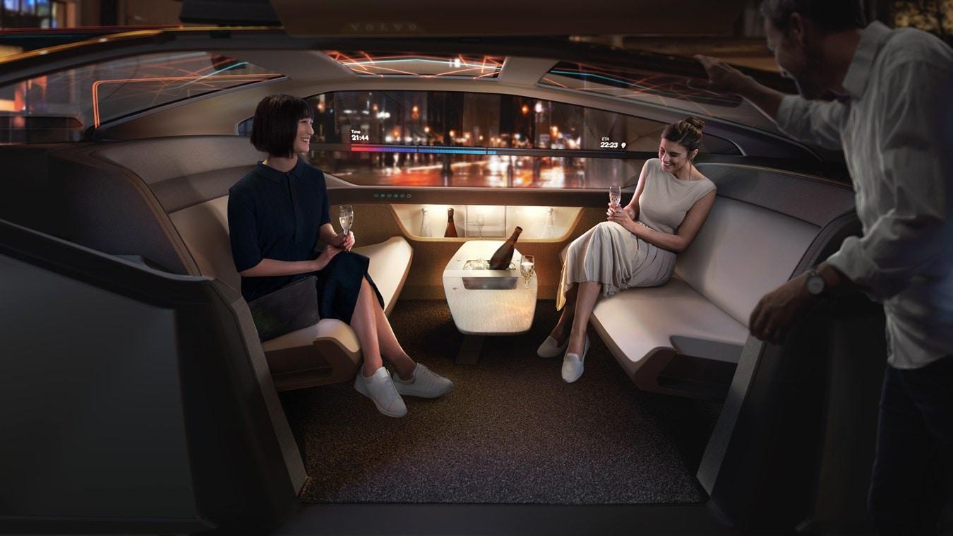 Volvo 360c Concept NYC