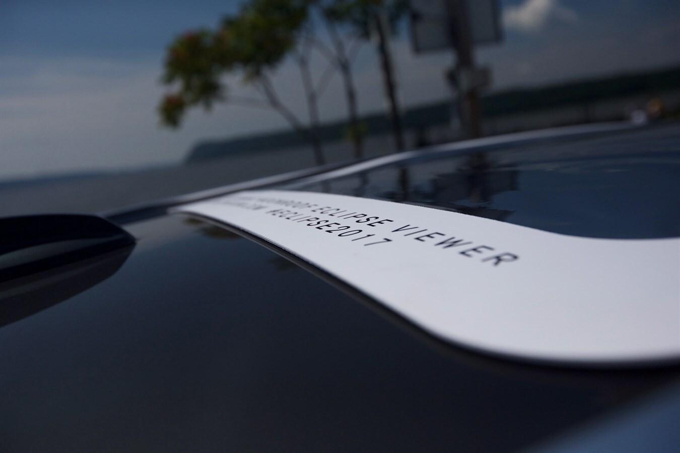 Volvo XC60 Panoramic Moonroof Eclipse Viewer