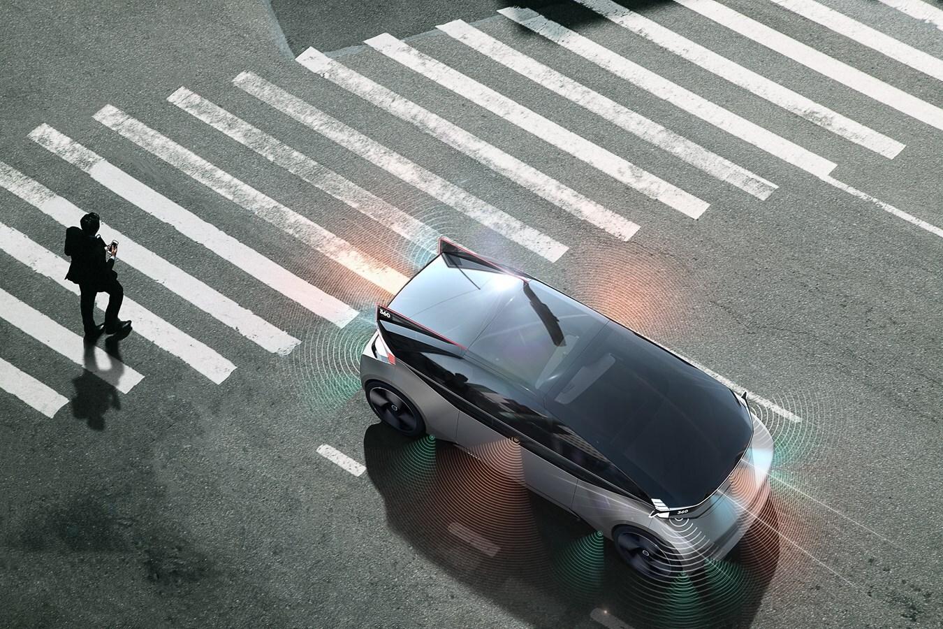 Volvo 360c Concept Exterior