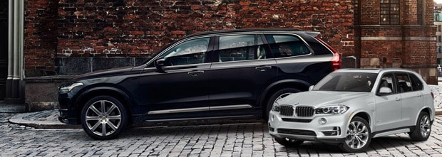 Volvo XC90 vs BMW X5 NJ