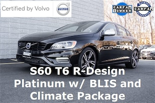 2017 Volvo S60 T6 AWD R-Design Platinum Sedan