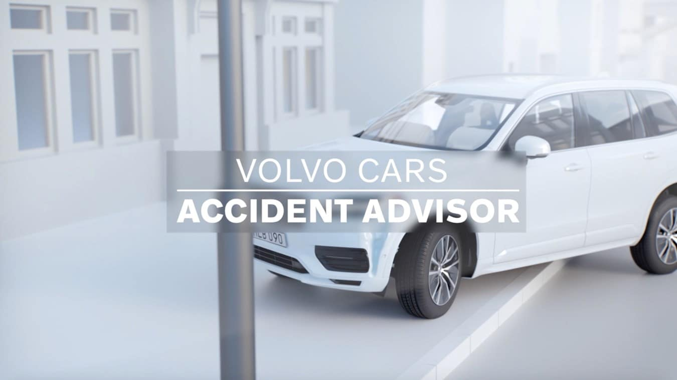 How the Volvo Cars Accident Advisor App Helps After a Crash