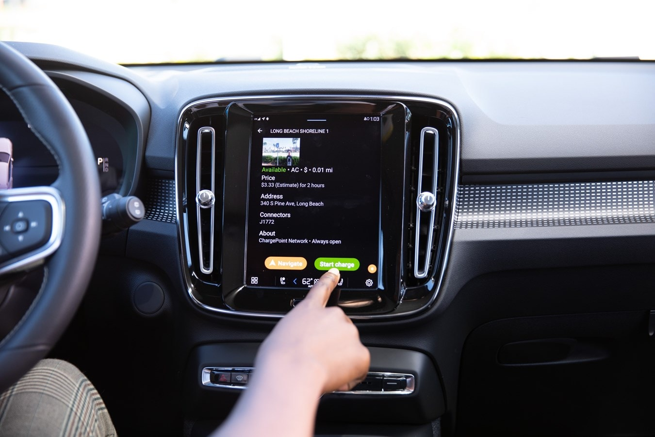 Volvo ChargePoint App