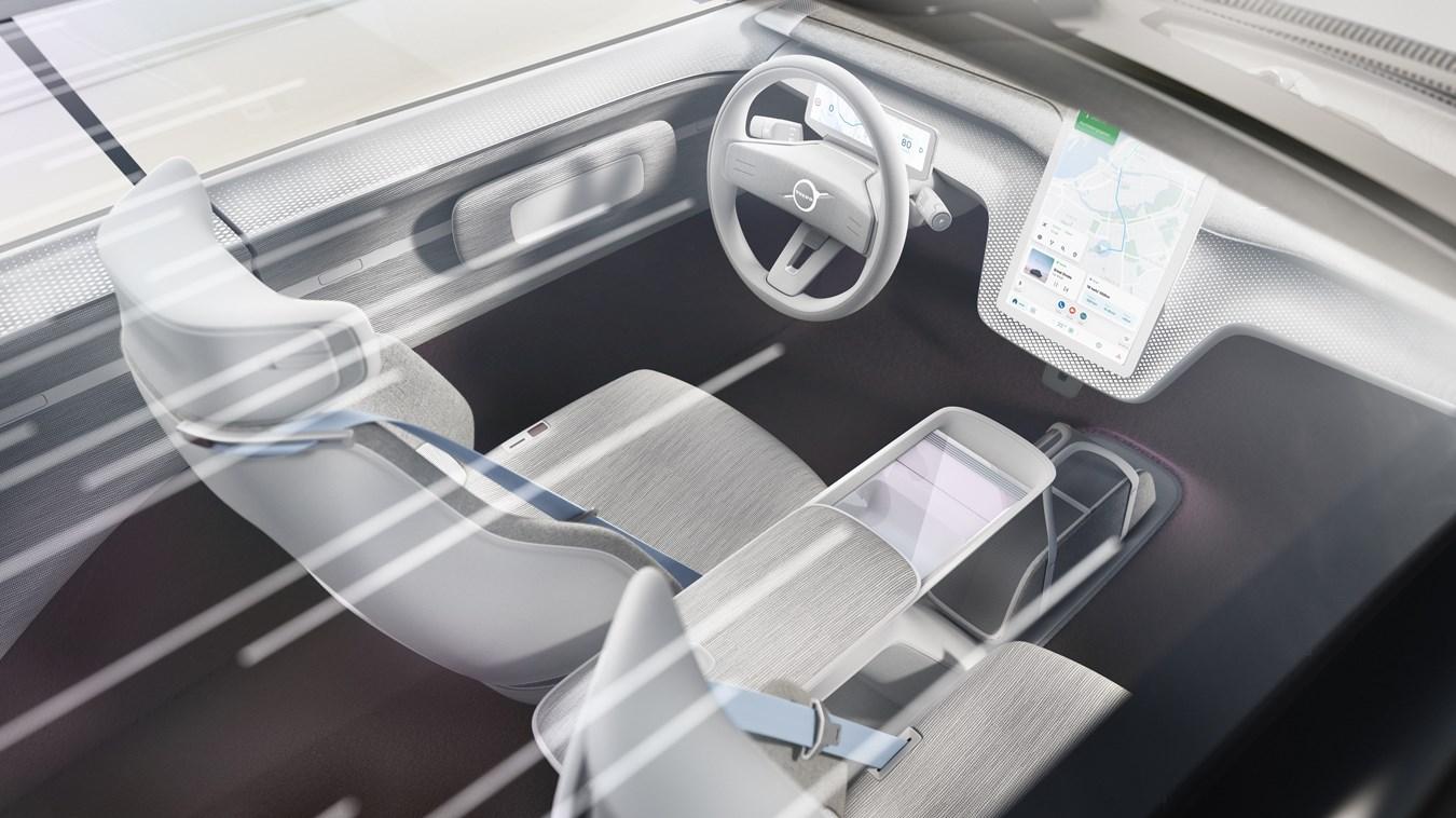 Volvo Concept Recharge Infotainment