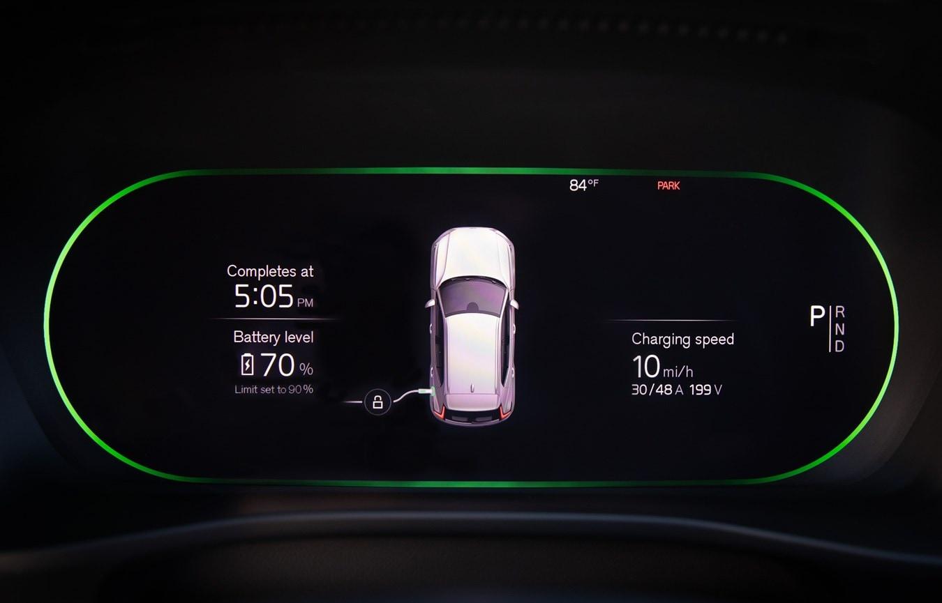 Volvo Recharge App